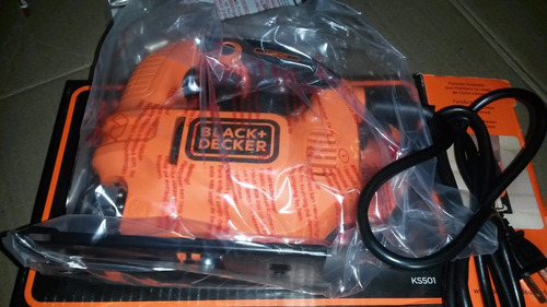 sierra caladora 420 wat black&decker mod ks 501 nueva !!!