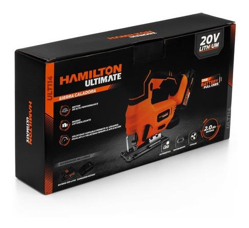 sierra caladora bateria 20v hamilton ultimate ult114 cuotas