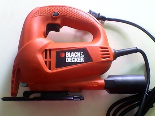 sierra caladora black & decker 450w