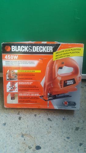 sierra caladora black decker