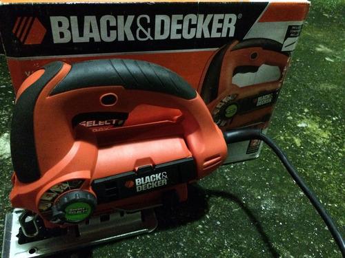 sierra caladora black & decker modelo js660