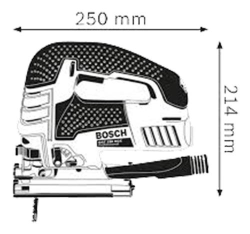 sierra caladora bosch gst 150 bce 780w sds click + maletín