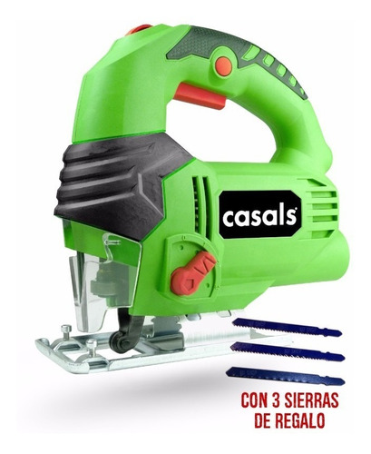 sierra caladora casals 650 watts 2 años gtia mf shop 65 mm