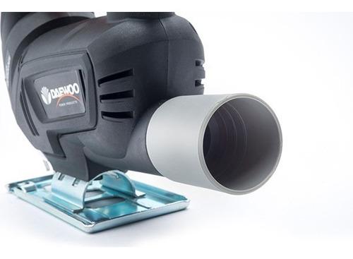 sierra caladora daewoo vel variable 400w 3000rpm +accesorios