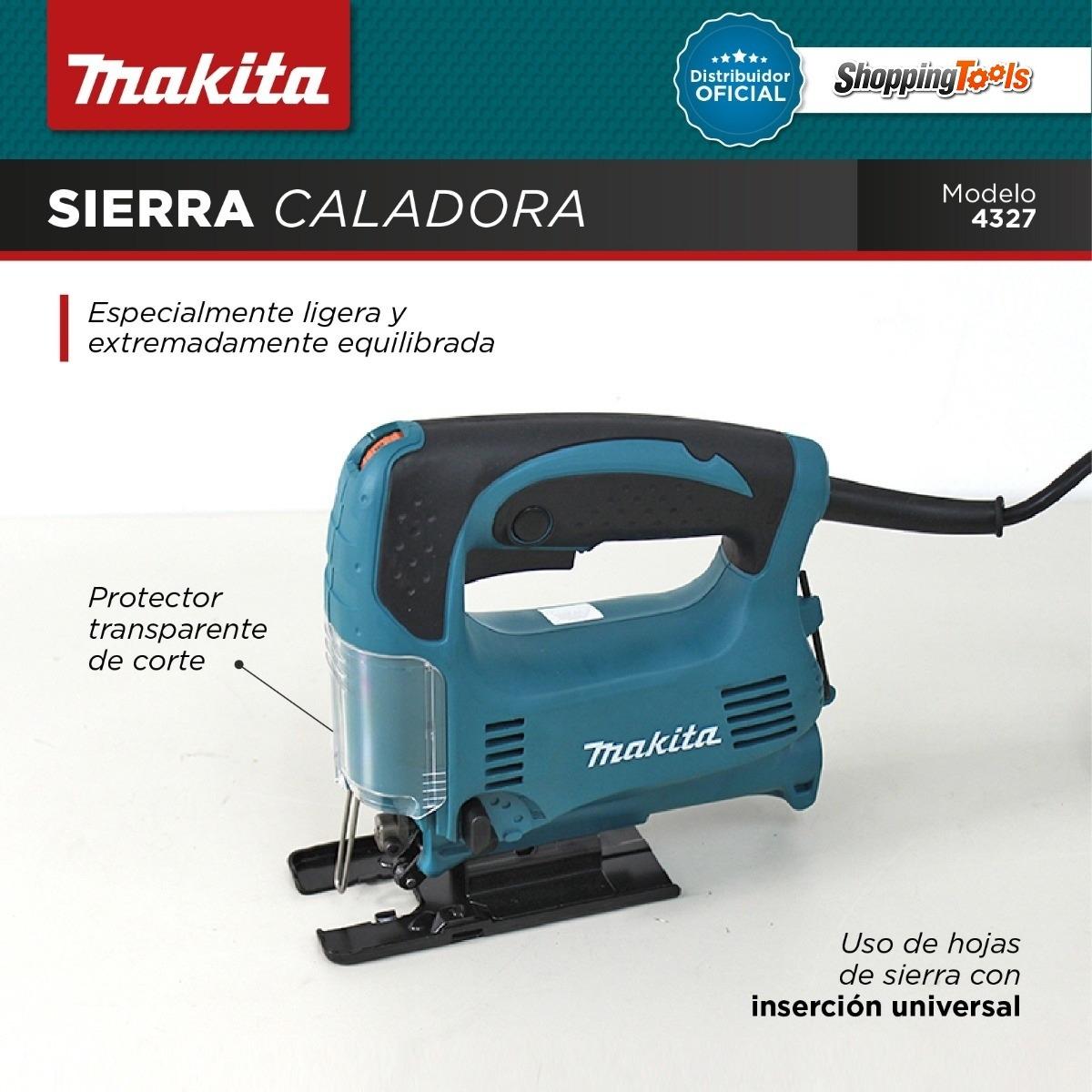 Sierra Caladora De Mano Makita Mod 4327 450w Vel  Variable