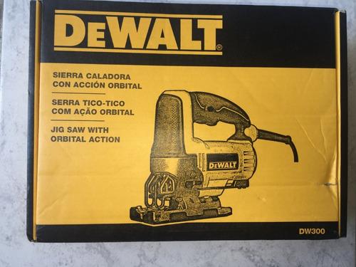 sierra caladora dewalt dw300-b3