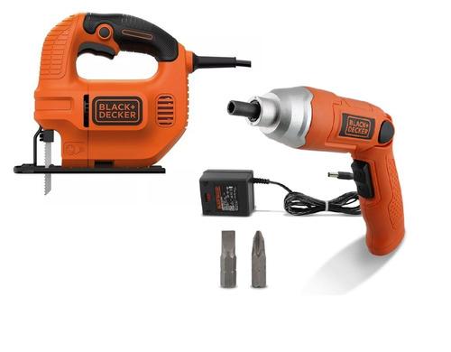 sierra caladora ks501 420w + 3 hojas + atornillador 3,6v