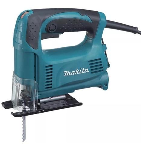sierra caladora makita 450w 4327 + set 5 hojas sierra makita