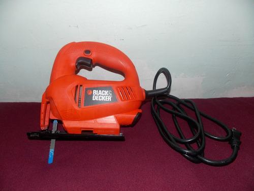 sierra caladora marca black decker 400w