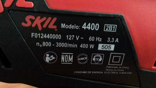 sierra caladora marca skil 400w 110v