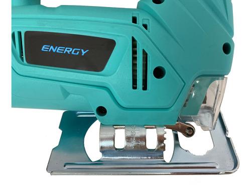 sierra caladora metal acero y madera corte 55mm 400w energy