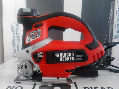 sierra caladora profesional black and decker js700k.