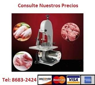 sierra carnicería, corta hueso, carne. rebanadora. industria