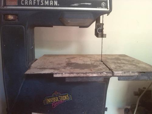 sierra cinta para carpintería 110 voltios..