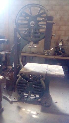sierra cinta para madera de 70 volante marca centauro 4hp