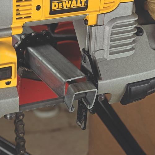 sierra cinta portatil corte profundo 5 in, dewalt dwm120k