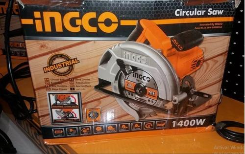 sierra circular 1400w marca ingco