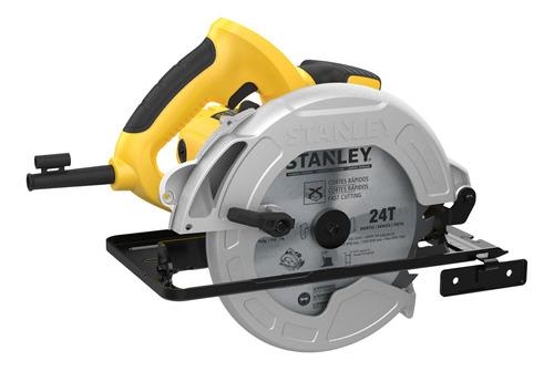sierra circular 1600w + taladro perc. 600w stanley sc16-prom