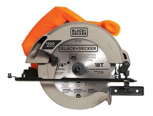 sierra circular 7-1/4 1500w 5000rpm cs1024-b2 black + decker