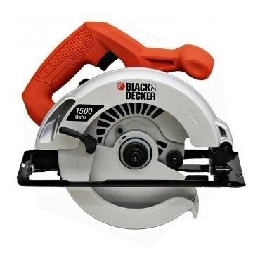 sierra circular 7 1/4 1500w cs1024 black decker+disco regalo