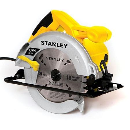 sierra circular 7 1/4 1,700 w stsc1718 carpinteria stanley