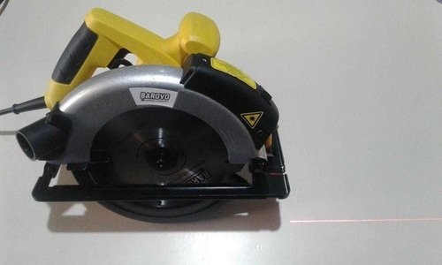 sierra circular barovo 7-1/4 con guia laser cs12-a 185mm