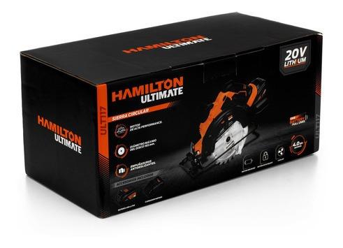 sierra circular bateria 20v hamilton ultimate ult117 cuotas