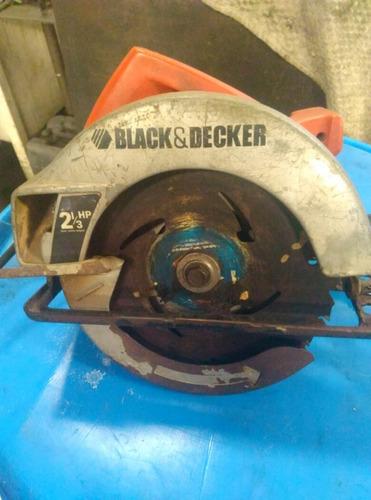 sierra circular  black&decker