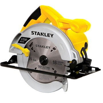 sierra circular + bolso de tela stanley  stsc1718b