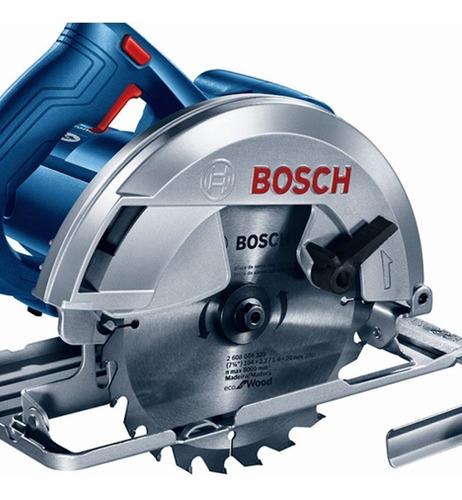 sierra circular bosch gks 150 1500 watts 7 1/4 madera + disco+ guia lateral + regulador de profundidad + angulo de corte