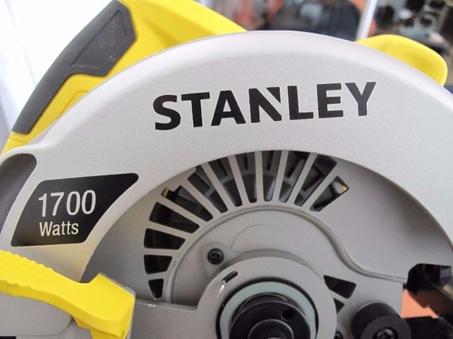 sierra circular de 1700 w  stanley stsc1718