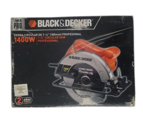 sierra circular de 7 y 1/4 profesional black&decker