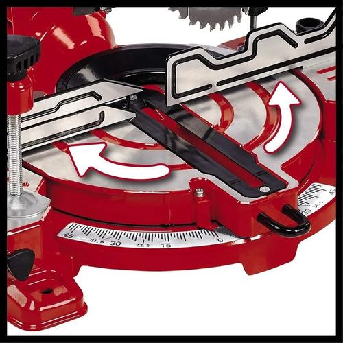 sierra circular ingletadora einhell 8.1/4 216mm 1600w bisela