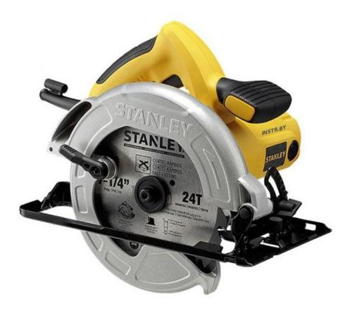 sierra circular + lijadora de 1/4  stanley  sc16-b3c