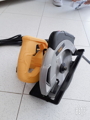 sierra circular nueva 7 pulgadas con disco