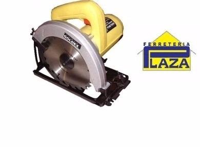 sierra circular portátil c/hoja 7.¼ goldex