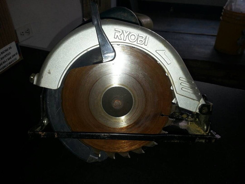 sierra circular ryobi