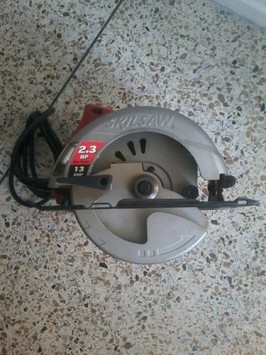 sierra circular skilsaw . 2.3 hp