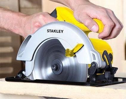 sierra circular stanley 1700w 110v disco 185mm mod stst1718