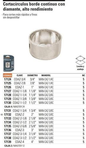 sierra copa concreto k 2-1/2 truper [54552]