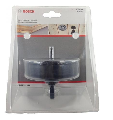 sierra copa para madera 100 mm spot iluminacion bosch