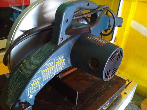sierra cortadora bosch 3814  máquina corte abrasivo 14 pulg