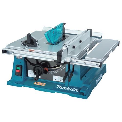 sierra cortadora de mesa 10' 4800 rpm makita 2704 uso rudo