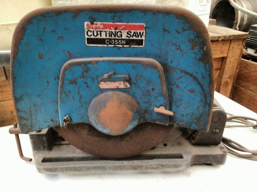 sierra cortadora ryobi 355-n - 220 v- 2200 w- funciona ok!