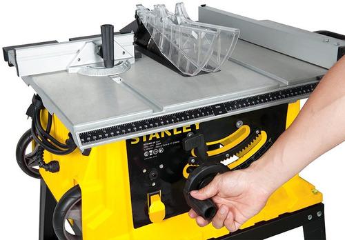 sierra de banco o mesa stanley 1800 watts nuevo con garantia