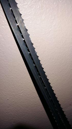 sierra de banda o huincha repuesto bauker 1510mm, y otras...