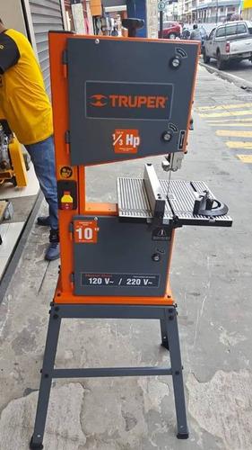 sierra de cinta 10 13hp 110v220v marca truper