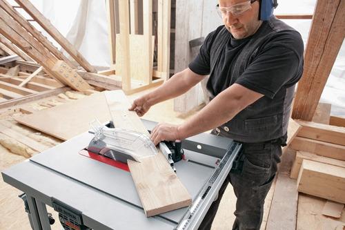 sierra de mesa banco  bosch gts 10j 10pulg (254mm) 1800w