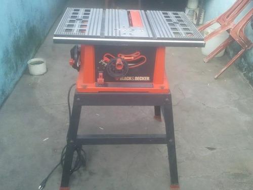sierra de mesa black & decker