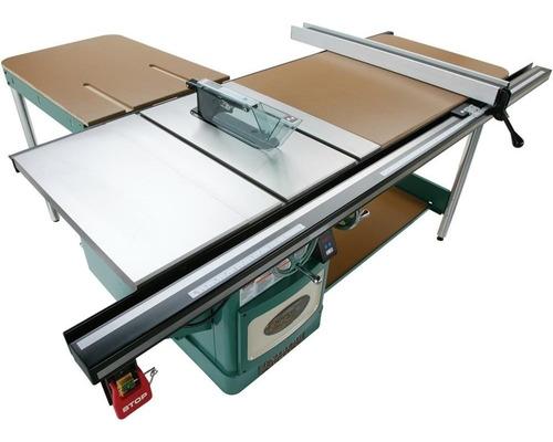 sierra de mesa industrial tipo escuadradora grizzly 10